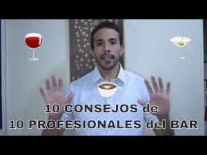 10 consejos de 10 profesionales del bar