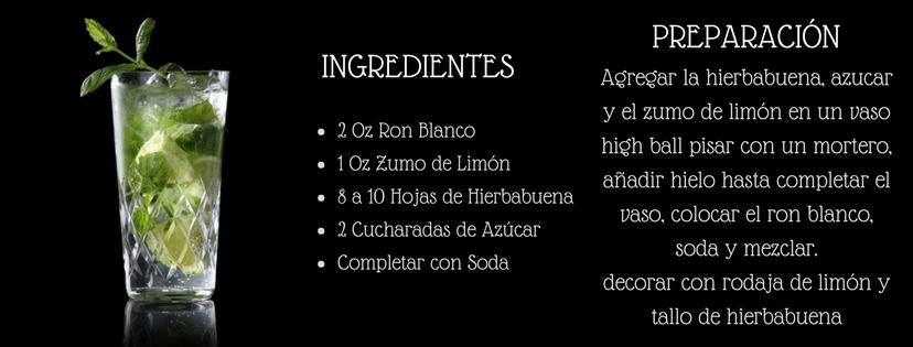 receta mojito cubano