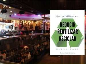 Sostenibilidad en el Bar