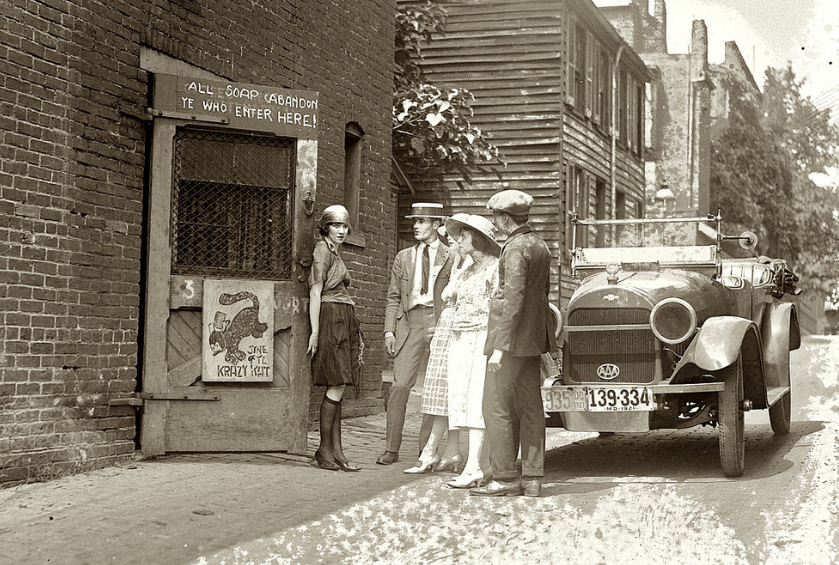 "Speakeasy ""Krazy Kat"", Washington DC. 1920"