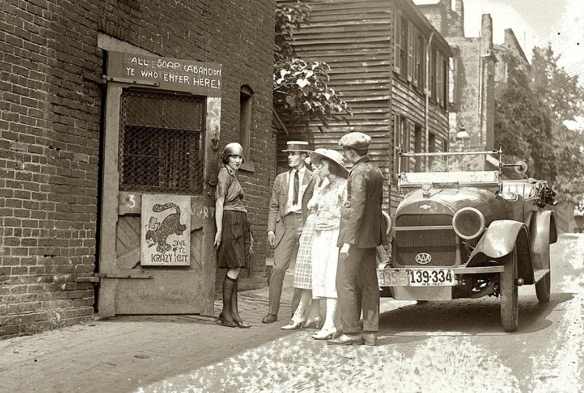 "Speakeasy ""Krazy Kat"", Washington DC. 1920"